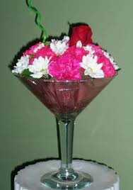 glass floral arrangements