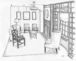 interior design sketching