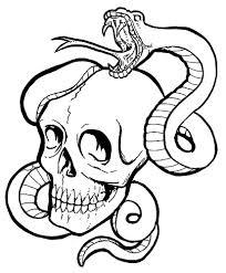 snake drawings