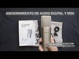 audio microfono