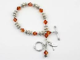 leukemia awareness bracelet