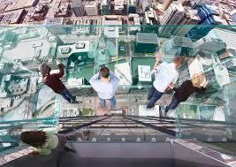 glass ledge