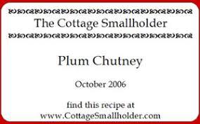 chutney labels