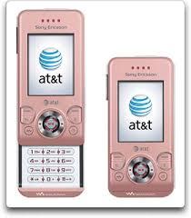 sony w580 pink
