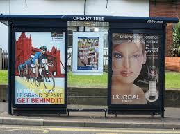 busstop advertising