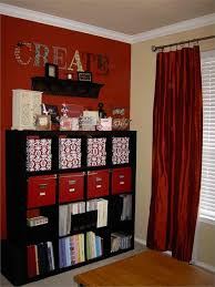 scrapbook room organization