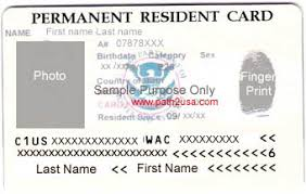 conditional permanent resident card