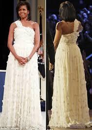 michelle obama inauguration ball dress