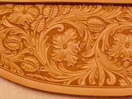leather carving designs