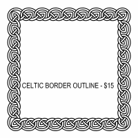 celtic page borders