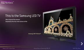 samsung led tv ad