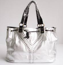 handbags silver