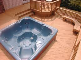 deck hot tub plans