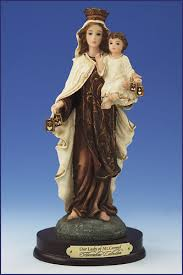 our lady of mt carmel statue
