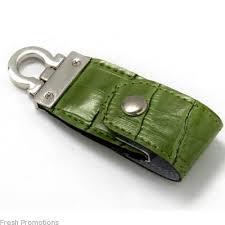 keyring leather