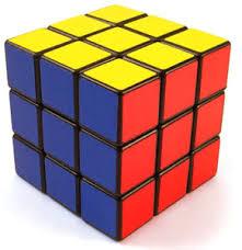 4 sided rubiks cube