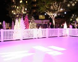 ice skating rink pictures