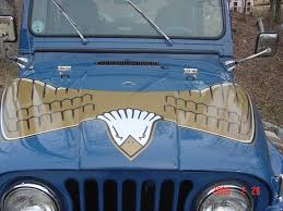 jeep golden eagle decal