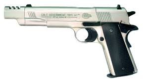 colt 1911 nickel plated