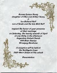 invitation words