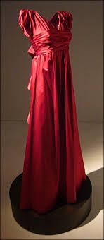 fur gown