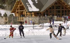pond hockey pictures