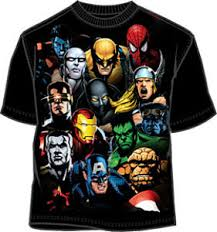 marvel comics t shirt