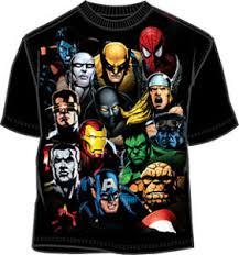 superheroes t shirt