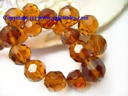 crystal beads jewellery