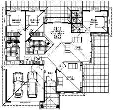 3 bed room house plans