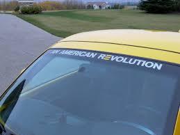 chevrolet window stickers