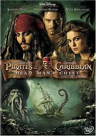 pirate of the caribbean dvd
