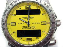 breitling yellow