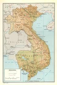 indochina map