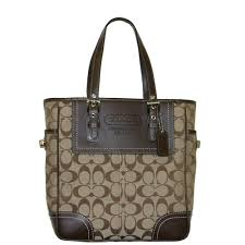 coach signature lunch tote