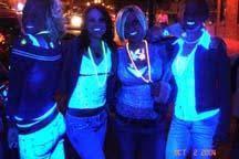 blacklight party