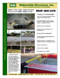 drop arm gate