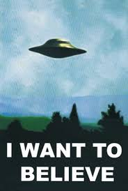 i want to believe posters
