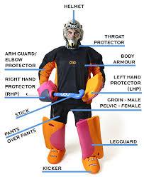 hockey goalkeepers kit