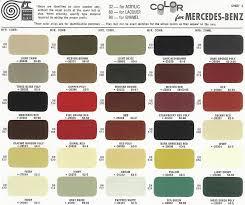 car color charts