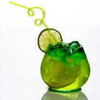 green alcohol drink