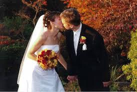 fall colors wedding
