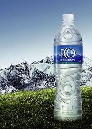 envase de agua