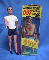 james bond figurine