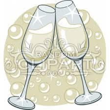 champagne flutes clip art