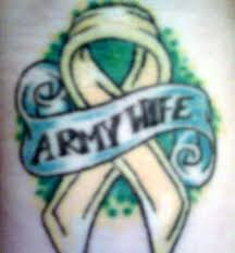 army wife tattoos