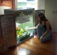 indoor grow closet