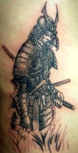 samurai warriors tattoo