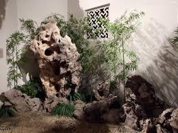 chinese rock garden