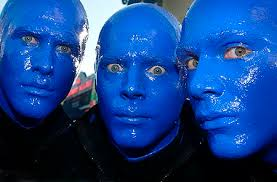 blue man pictures
